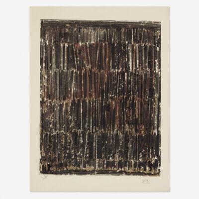 César Baldaccini, 'Arrachage-Lithographie', 1962
