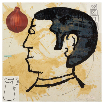 Donald Baechler, 'A group of three works from Onion Eaters', 1991