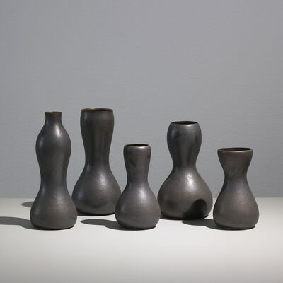 Sunna Jonsdotter, 'Unique stoneware vases, group II', 2019