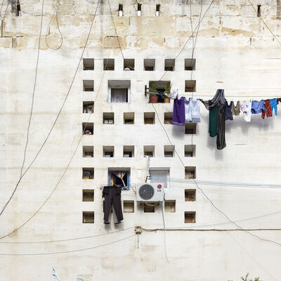 """Stéphane Couturier, 'Alger, Cité """"Climat de France"""", Façade #5-02', 2013"""