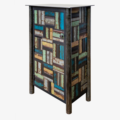 Jim Rose, 'One Door Basket Weave Quilt Cupboard', 2019