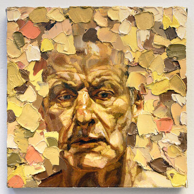 Przemek Matecki, 'Lucian Freud, from the Small Paintings series (A071)', 2016-2018