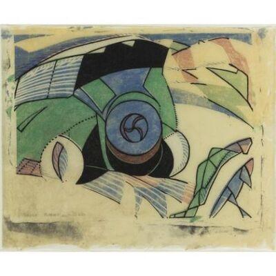 Claude Flight, 'Paris Omnibus', 1923