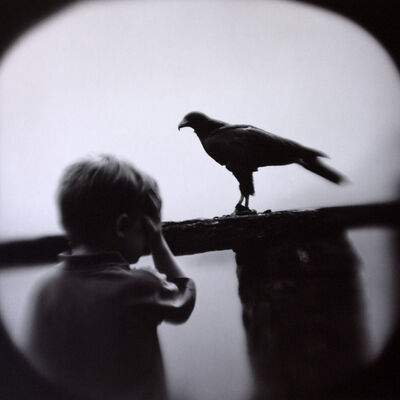 Keith Carter, 'Boy and Hawk', 2005