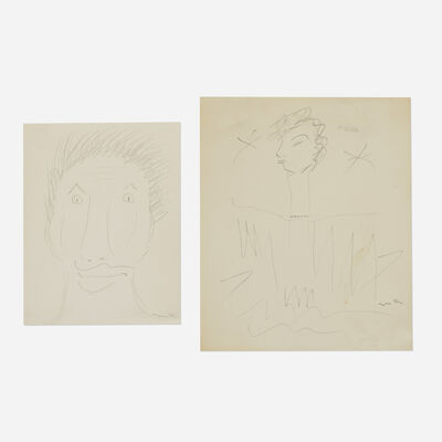 Man Ray, 'Untitled (two works)', c. 1971