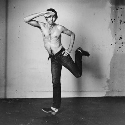 Peter Hujar, 'Self-portrait Jumping (II)', 1974