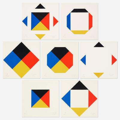 Max Bill, '7 Scarious portfolio', 1967