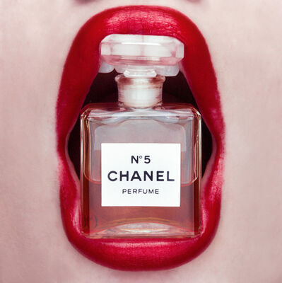 Tyler Shields, 'Chanel Mouth'