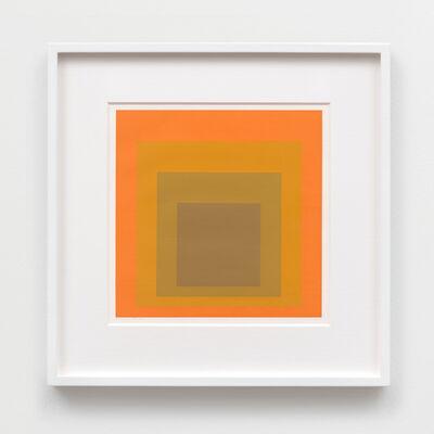 Josef Albers, 'Concord', 1965