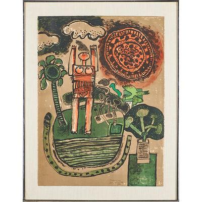 """Guillaume Corneille, 'Tropique, L'As de Coeur, and """"Les Deux Soeurs""""', 1968; 1969"""