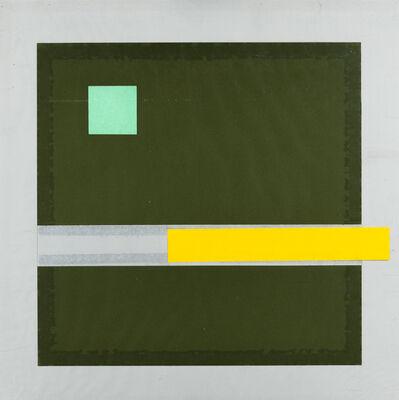 Rinaldo Nuzzolese, 'Configurazione uomo (lo sberleffo)', 1981