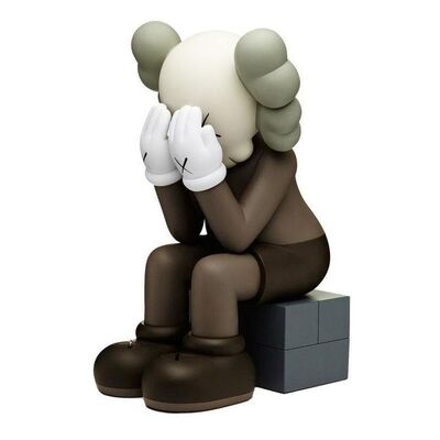 KAWS, 'Passing Through (Brown)', 2018