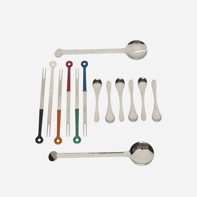 Various Designers, 'flatware collection', 1966/1970