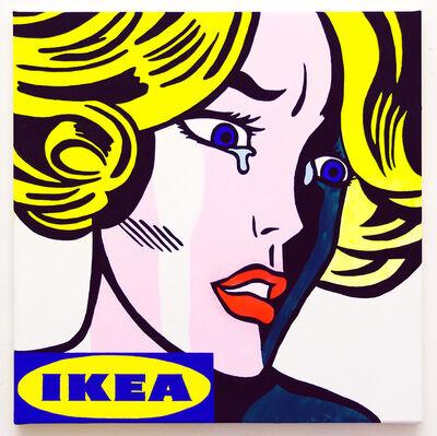 Michael Pybus, 'Frightened Girl IKEA (1)', 2018