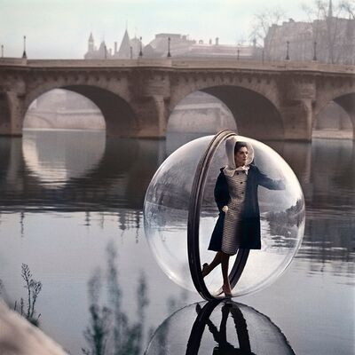 "Melvin Sokolsky, '""On The Seine II""', 1963"