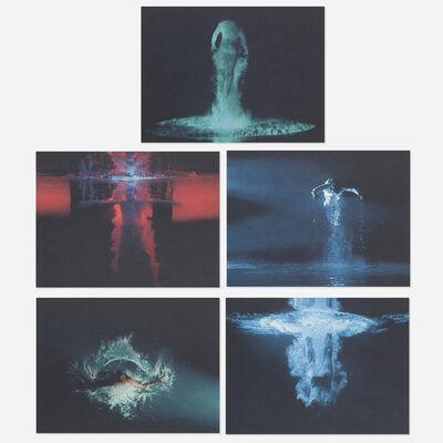 Bill Viola, 'Five Angels for the Millenium portfolio', 2001