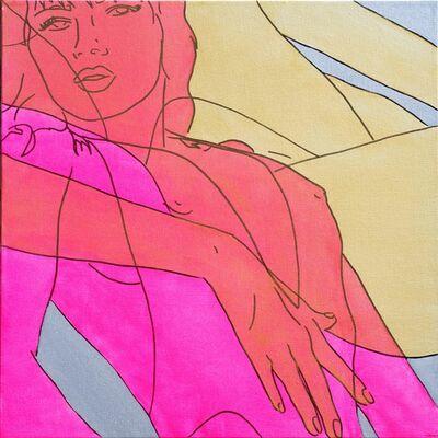 Hilary Bond, 'Pink Gold Silver', 2015