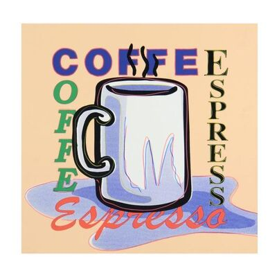 Steve Kaufman, 'Espresso', 1980-2010
