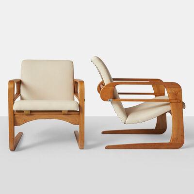 """Kem Weber, 'Kem Weber, Pair of Reclining """"Airline"""" Chairs', ca. 1934"""