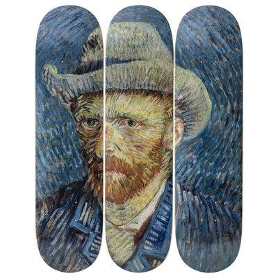 Vincent van Gogh, 'Self-Portrait Skateboard Decks after Vincent Van Gogh', 2019