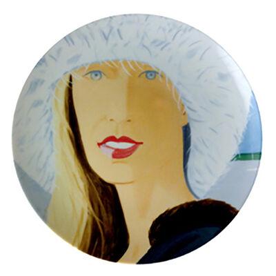 Alex Katz, 'Plate (Jessica)', 2015