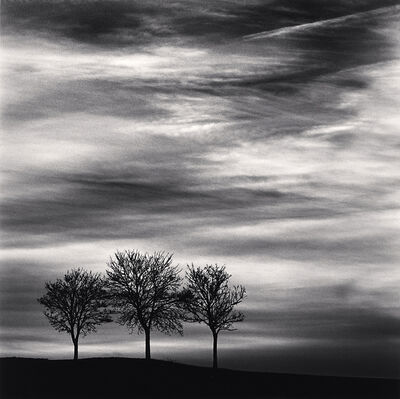 Michael Kenna, 'Three Trees at Dusk, Fain les Moutiers, Bourgogne, France', 2013