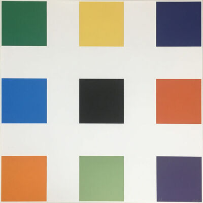 Ellsworth Kelly, 'Nine Squares', 1976-1977