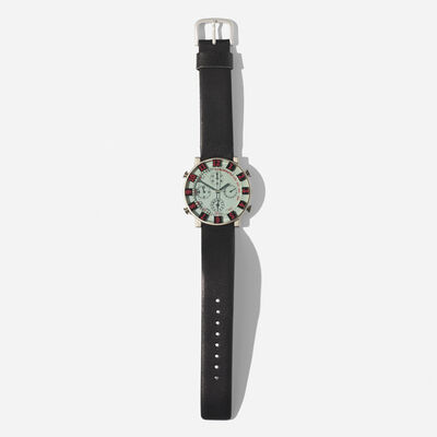 Ettore Sottsass, 'Sottsass Collection chronograph wristwatch, model SBBP023', c. 1993