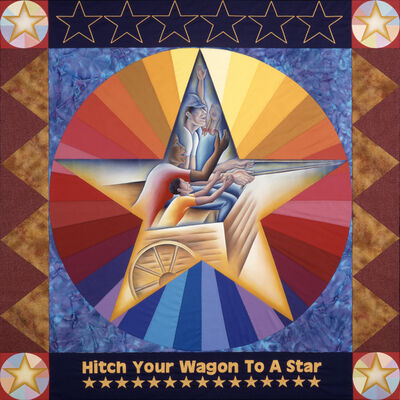 Judy Chicago, 'Hitch Your Wagon To A Star (From Resolutions: A Stitch in Time)', 2000
