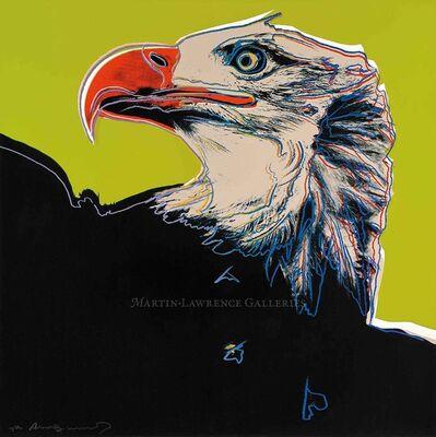 Andy Warhol, 'Bald Eagle, 1983 (#296, Endangered Species)', 1983