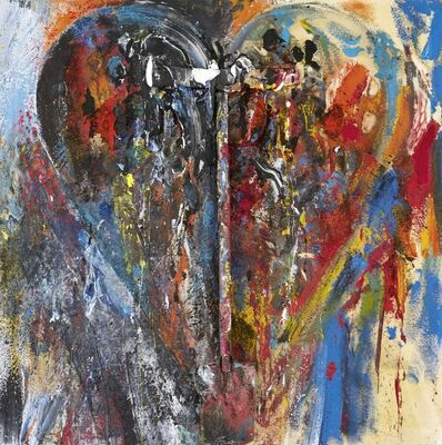 Jim Dine, 'She is called her', 2018