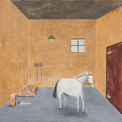Noel McKenna, 'Horse in barn', 2016