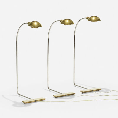 Cedric Hartman, 'floor lamps, set of three', 1985