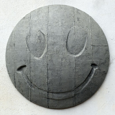 Fredrik Erichsen, 'Concrete Smiley, Fig. 1', 2019