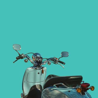 James Neil Hollingsworth, 'Moped', 2016