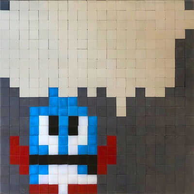 Invader, 'BUBBLE', 2004