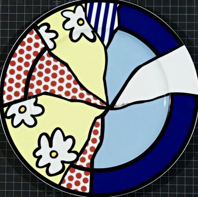 Roy Lichtenstein, 'Limited Edition Porcelain Plate', ca. 1990