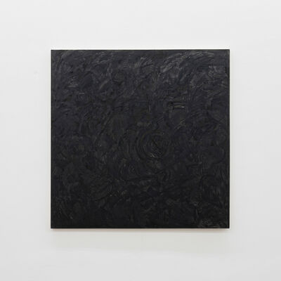 Marcia Hafif, 'Transparent Painting: Lamp Black', 1984