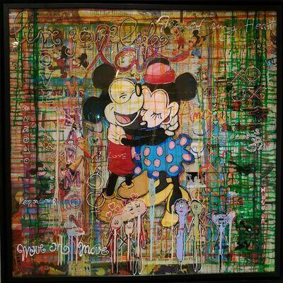 Alek Gerber, 'Minnie & Mickey in love', 2020