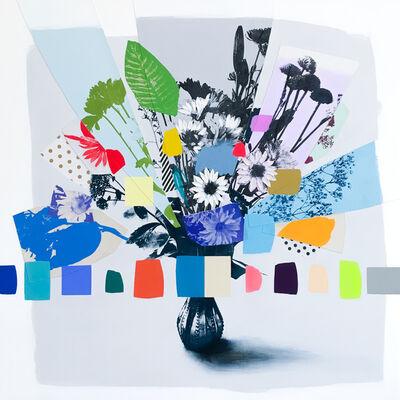 Emily Filler, 'Vintage Bouquet (Blues + Greens)', 2020