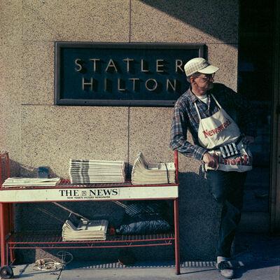 Mario Carnicelli, 'Newsstand, New York', 1966