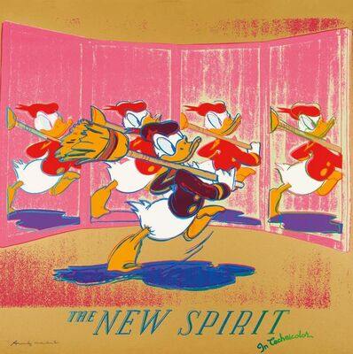 Andy Warhol, 'The New Spirit', 1985