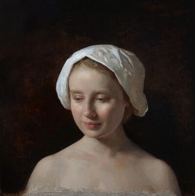 Rachel Li, 'Woman with Hat', 2019