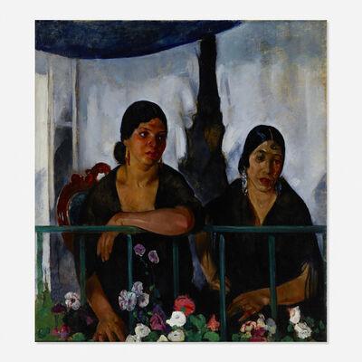 Martha Walter, 'Two Women on a Balcony'