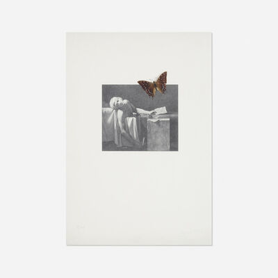 Jannis Kounellis, 'Death of Marat', 1974