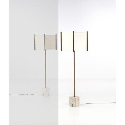 Ignazio Gardella, 'Lte Model 12; Floor Lamp', Around 1960