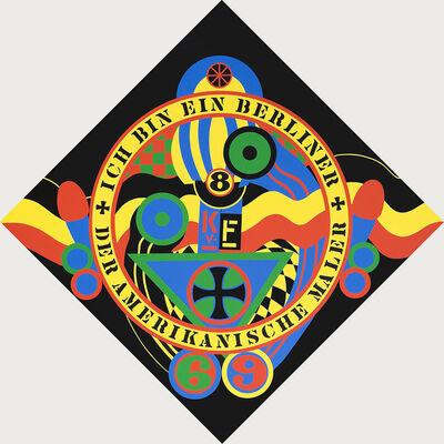 Robert Indiana, 'The Hartley Elegies, KVF IX', 1990