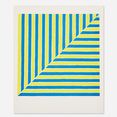 Frank Stella, 'Untitled (Rabat) from the X + X (Ten Works by Ten Painters) portfolio', 1964