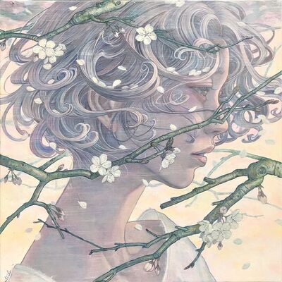 Miho Hirano, 'Spring breeze blowing through the heart', 2019