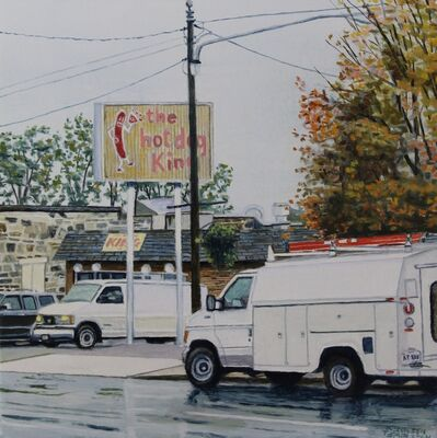 Kenneth Templeton, 'The Hot Dog King', 2015